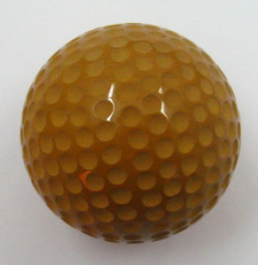 China yellow jasper Golf ball