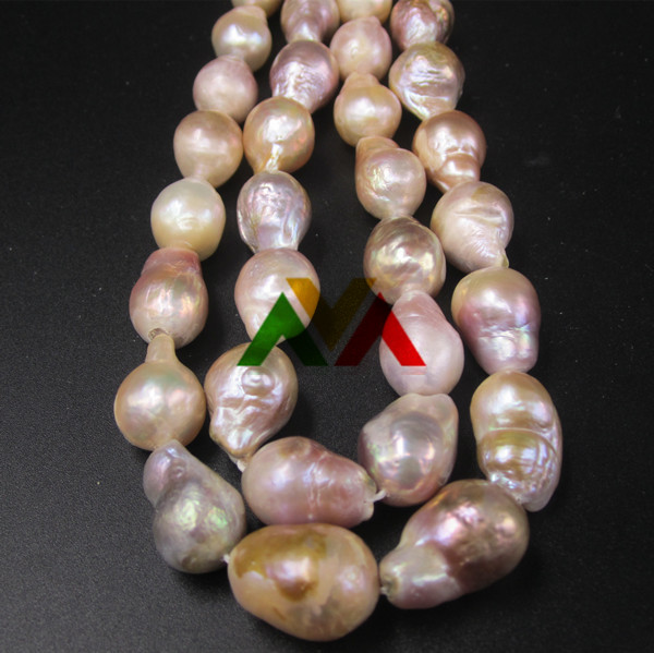 Edison Big Size colorful Pearls beads 15mm to 20mm