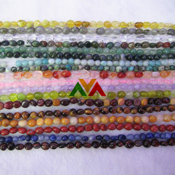 Tumble beads 5-8mm 8-13mm
